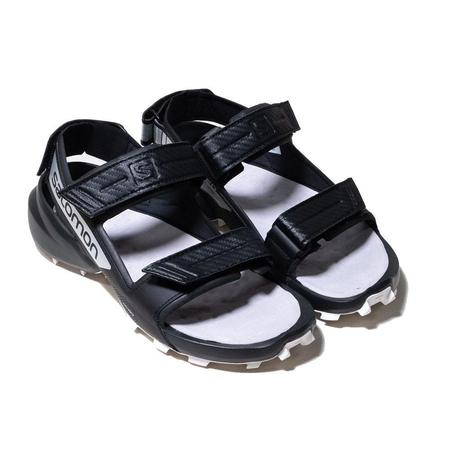 For And Wander Cross Sandal - bllack