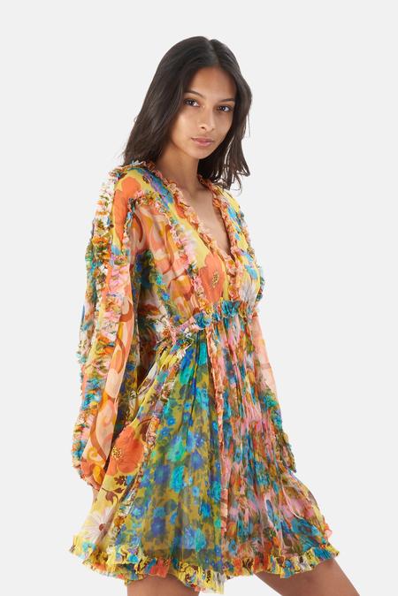 Zimmermann Estelle Billow Mini Dress - Spliced