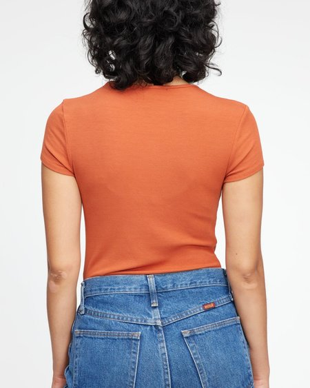 Lacausa QUINCY TEE - Copper