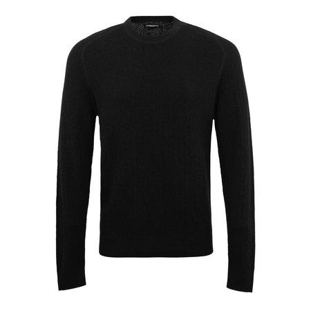 J Lindeberg Eliah Structured Crewneck Knit sweater - Black