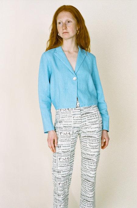 PALOMA WOOL Phoebe Jacket - Light Blue
