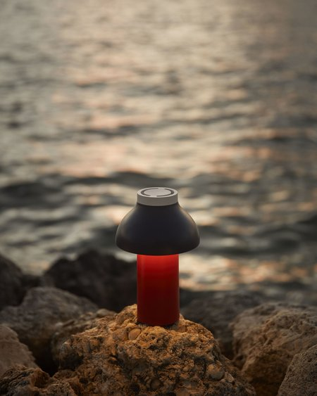 Hay Portable PC Portable Lamp - Dusty Red