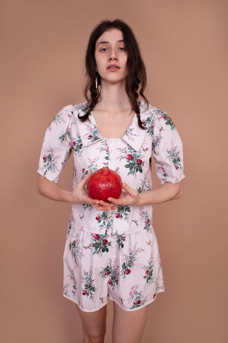 Meadows Bluebell Shirt - French Floral