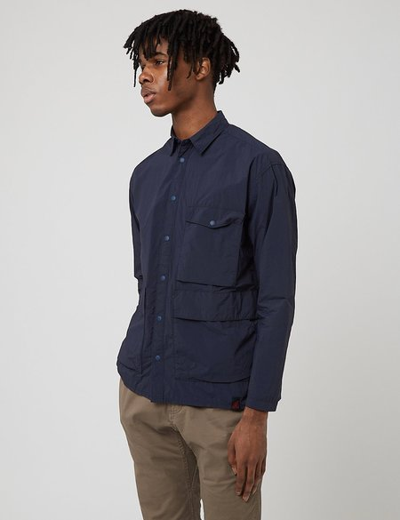 Gramicci Packable Utility Shirt - Double Navy Blue