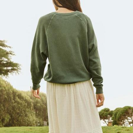 The Great. College Sweatshirt - PALMLEAF
