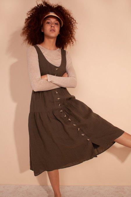 L.F.Markey Farrell Dress - Olive