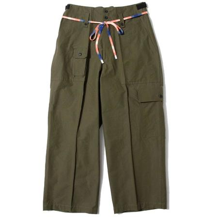 F/CE 60/40 Recycle Cargo Pants - OLIVE