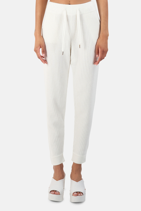 The Tile Club Florence Ribbed Bottom - White