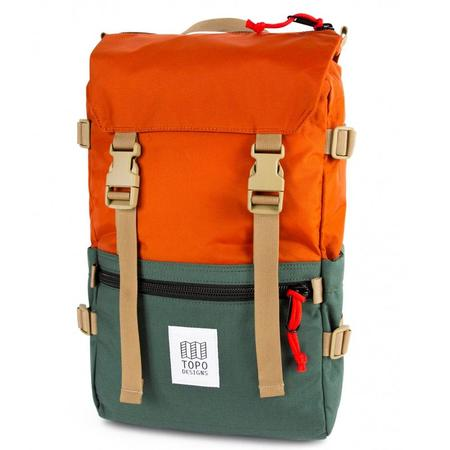 Topo Designs Rover Pack Classic - Clay/Forest