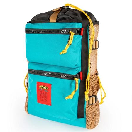 Topo Designs x Keen River Backpack Tote - Turquoise