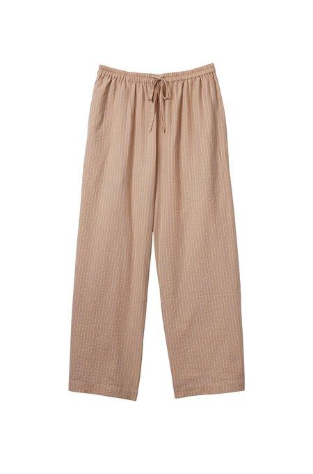 Soft Focus The Lounge Pant - Tan Stripe