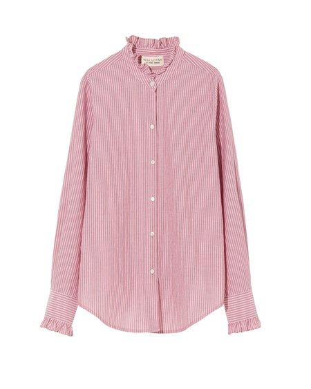 Nili Lotan Lydia Shirt - Red Stripe