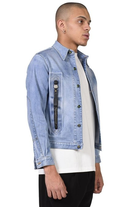 Sankuanz Zip Pocket Jacket - Denim