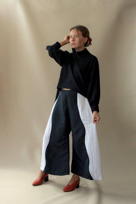 Nin Studio Swirl Pant - Black/White