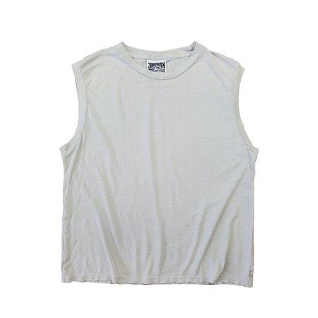 Jungmaven Malibu Muscle Tank - Washed White