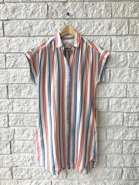 Trovata Heather Short Dress - Riviera Stripe