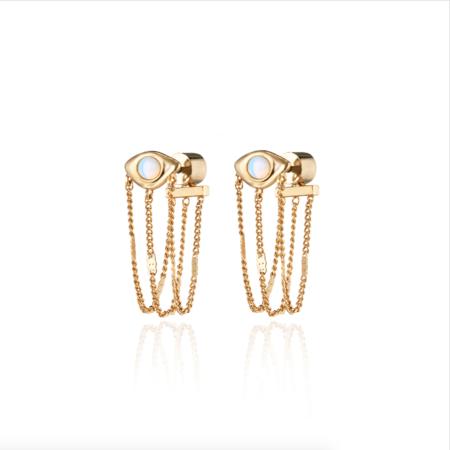 Jenny Bird Veaux Drape Earrings - Gold