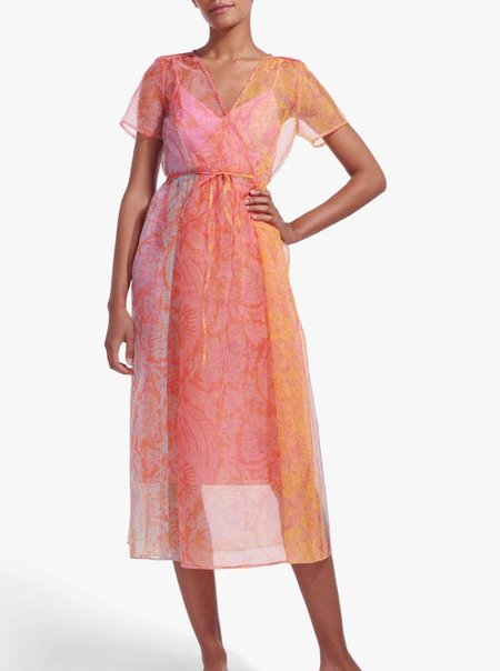 Staud Filippa Dress - Wave Multi