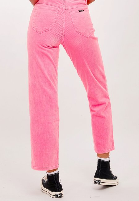 Rollas Original Straight Jeans - pink cordial cord