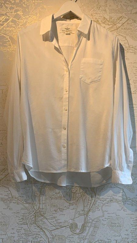 Trovata Grace Classic Button-Down Shirt - White
