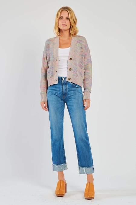 MOUSSY Vintage Paramus Straight Jeans - Light Blue