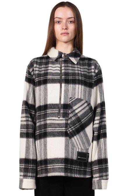 we11done Wool Anorak Jacket - Grey