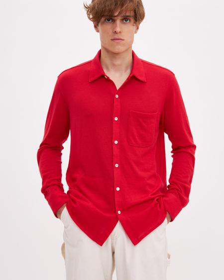 Bellariva Merinos Shirt - Red