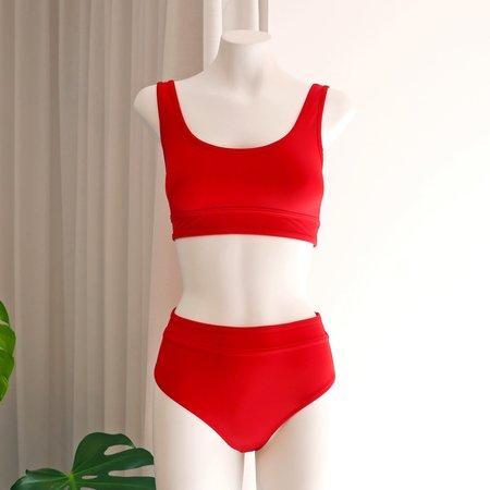 DENiZERi Ege Bikini Top - Redcoat