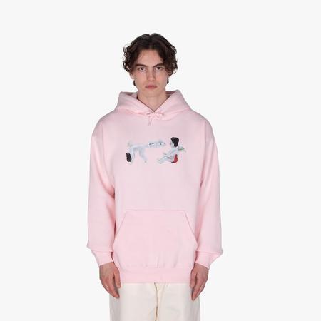 supra distribution Fucking Awesome Cherub Fart Pullover Hoodie sweater - Pink