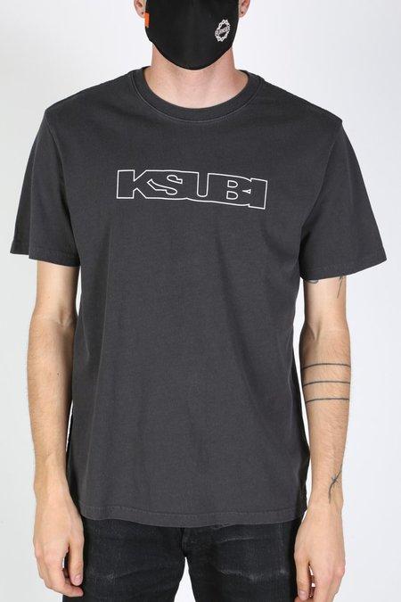 Ksubi Kash Tee - Faded Black
