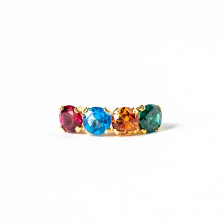 Saint Claude Rainbow Single Earring