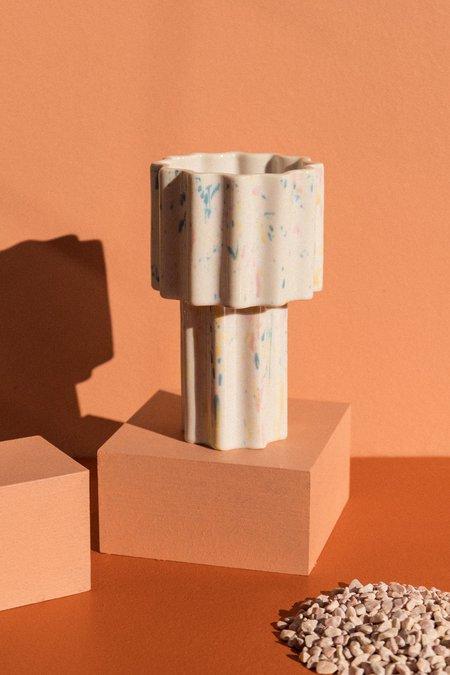 Ella Reweti Funfetti Planet Tall Tapered Vase