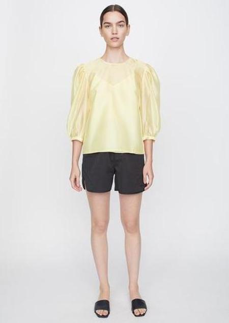 Just Female Ventura Blouse - yellow