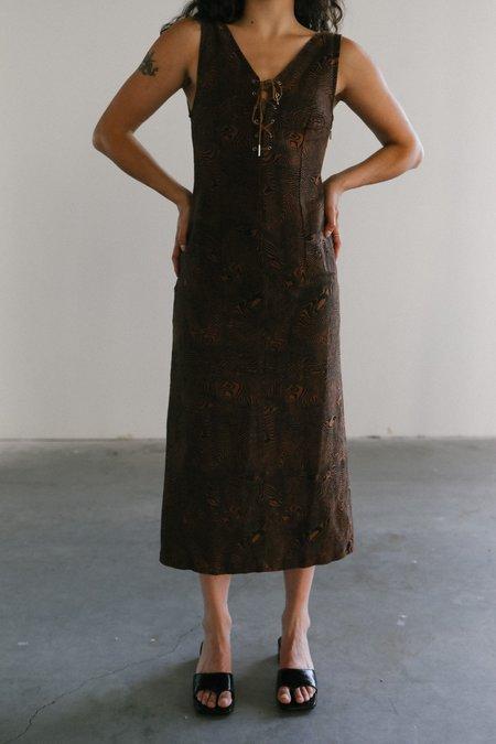 Paloma Wool Joey Linen Dress - Brown