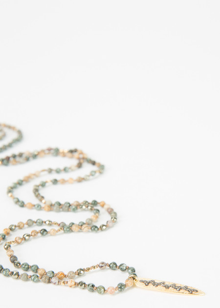 5 Octobre Cheyenne Beaded Necklace