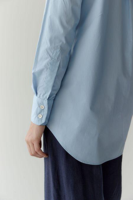 Mina Crisp Shirt - Powder Blue