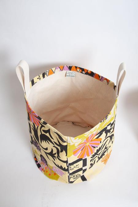 Gravel & Gold Extra Large Canvas Bucket - Extra Ornament