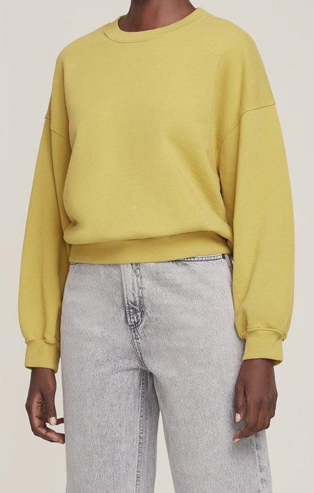 AGOLDE Balloon Sleeve Sweatshirt - Split Pea