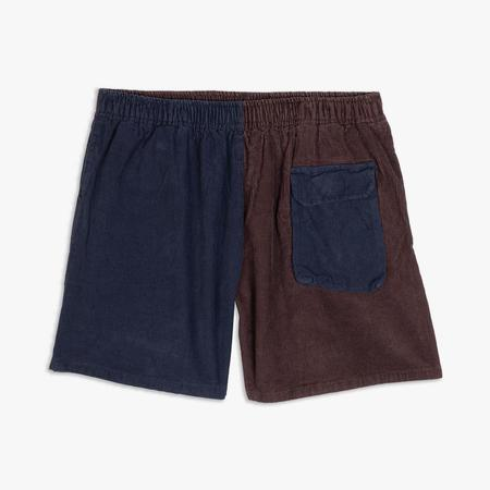 Real Bad Man Cord Simplest Short - Blue
