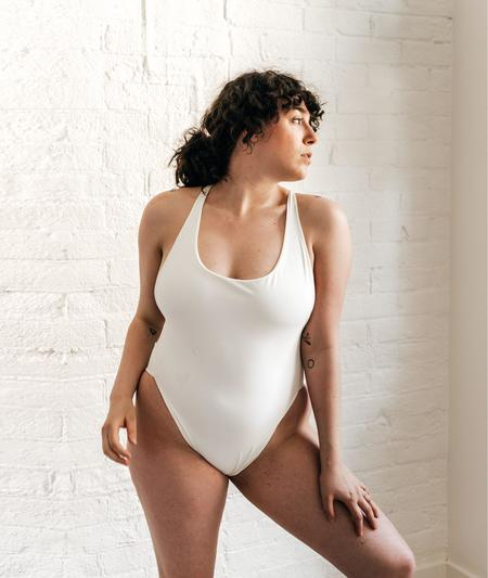 The Saltwater Collective Christina One Piece - Ivory