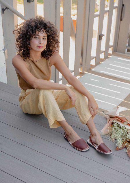 Mabel and Moss Avarcas Pons shoes - Taupe
