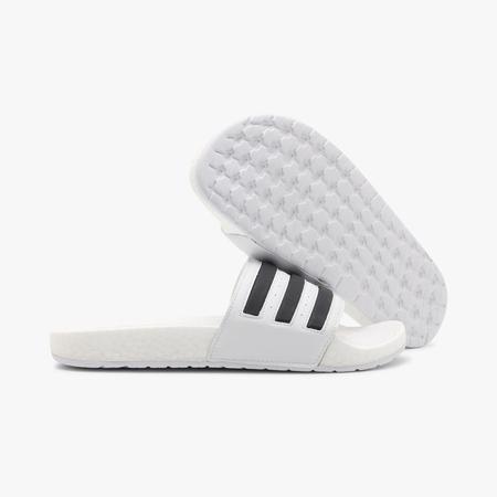 adidas Adilette Boost Slides - White/Black
