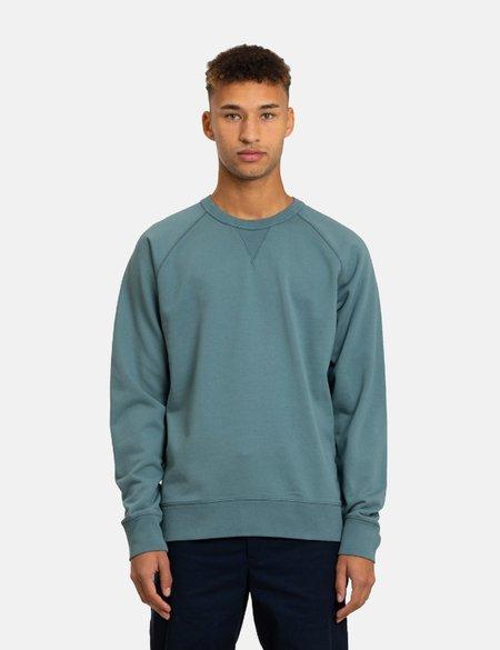 Norse Projects Kristian Sportswear GMD Sweatshirt - Mineral Blue