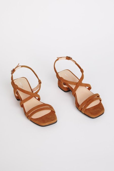 """""""INTENTIONALLY __________."""" HILLTOP shoes - Chestnut"""