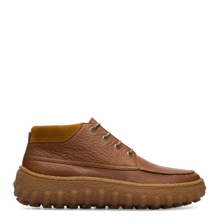 Camper Ground Ankle Boots - brown