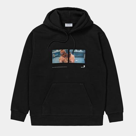 CARHARTT WIP Hooded Backyard Sweatshirt - black