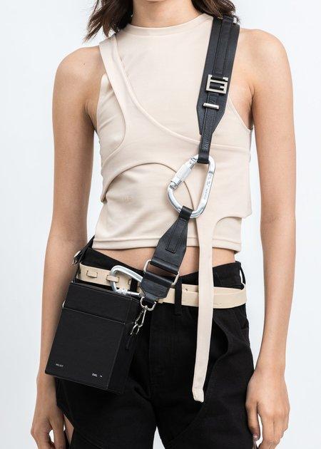 Heliot Emil Strap Box Bag - Black