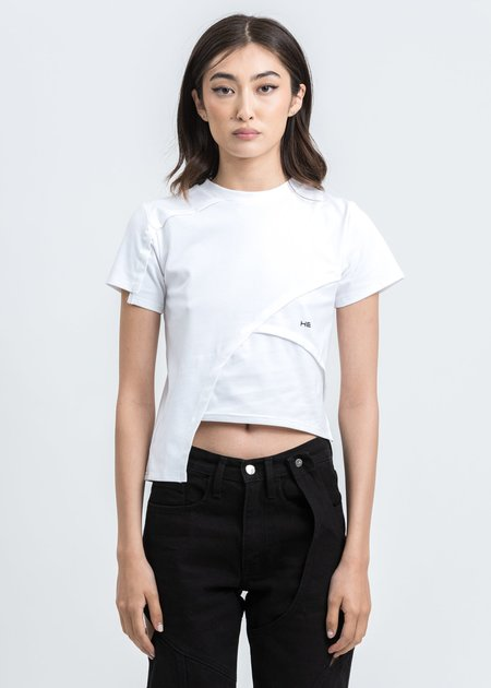 Heliot Emil Deconstructed T-Shirt - White