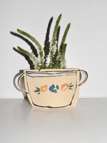 Alison Owen Basket Vase
