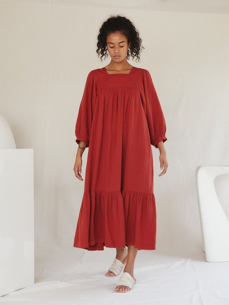 Sugar Candy Mountain The Nepenthe Dress - Red